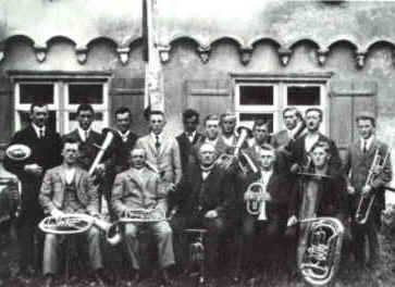 Kapelle um 1926